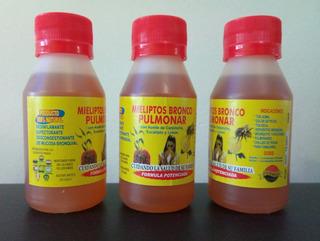 6 Potes De Miel Con Aceite De Carpincho, Limón Y Eucaliptos.