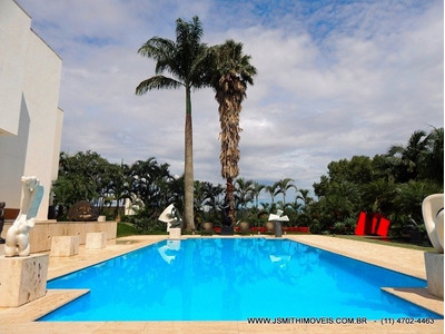 Casa Para Venda, 4 Dormitórios, São Fernando Golf Club - Cotia - 1993