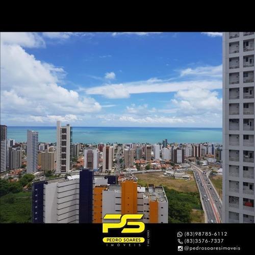 Apartamento Com 4 Dormitórios À Venda, 140 M² Por R$ 789.000 - Miramar - João Pessoa/pb - Ap4324