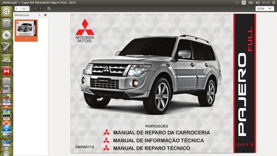 Manual Técnico Digital Mitsubishi Pajero Full
