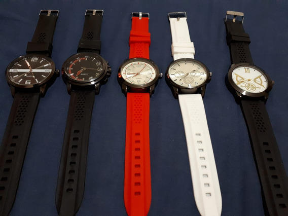 Novidade Relógios Quartz Cores E Modelos Variados!