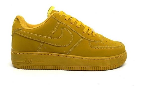 Tênis Nike Air Force 1 07 Caramelo