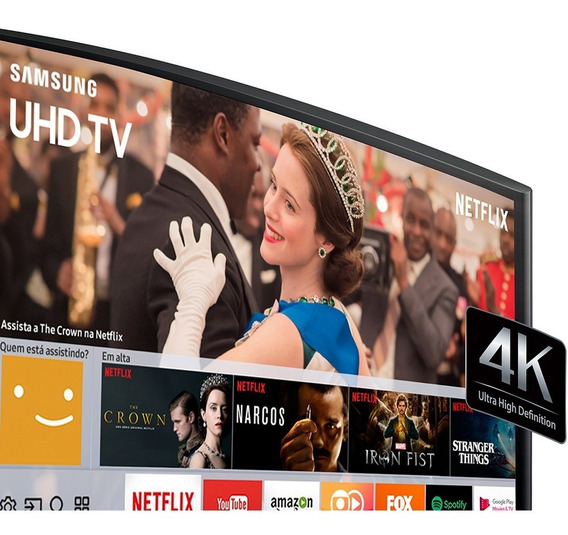 Smart Tv Led Curva 49 Samsung 49mu6300 Uhd 4k Conversor