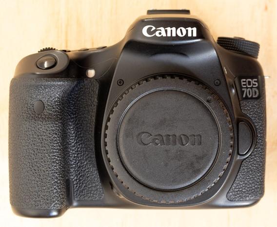Câmera Canon 70d + Lente 18-135mm Is Usm