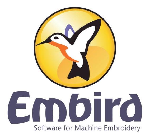 Software De Criação De Bordados Embird Completo