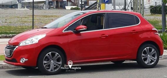 Peugeot 208 Griffe 1.6 16v Flex Aut. 2015 Vermelho