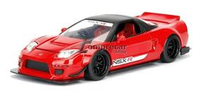 Miniatura Honda Nsx Type-r 2002 Vermelho Jada Toys 1/24