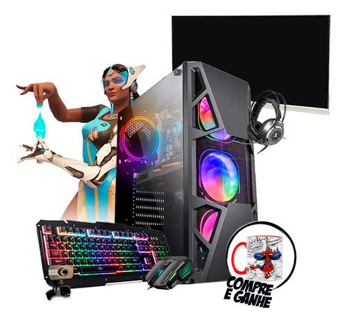 Pc Gamer Bravus I7 Gtx1650 16gb Hd 1tb Ssd 120gb Mon. 24