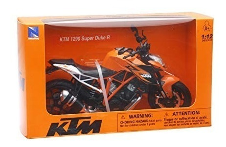 Replica Jueguete Moto Ktm Super Duke 1290 Escala 1:12