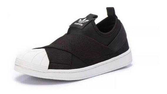 Tênis adidas Superstar Slip On - Preto