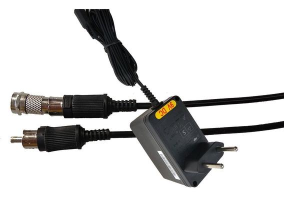 Kit Fonte E Cabo Rf Para Atari Milmar Memory Game