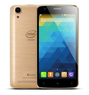 Celular Qbex X-gold W509 Intel - Dourado