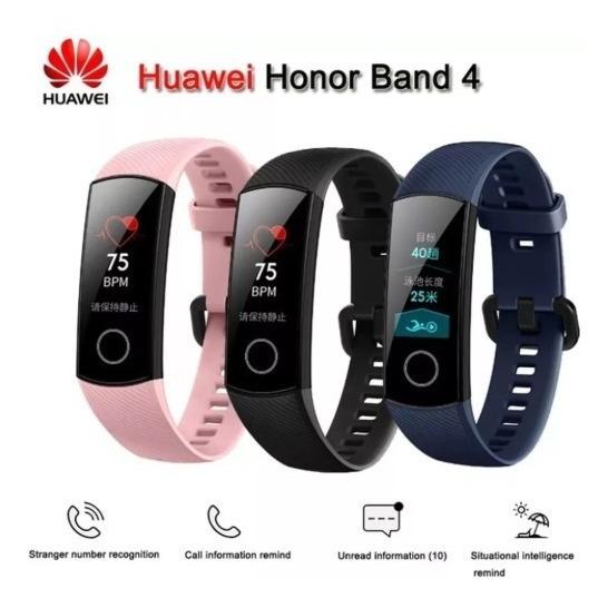 Huawei Honor Band 4 Smartwatch Treinos Notificações Etc...