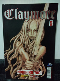 Manga Claymore 5 - Norihiro Yagi - Panini 2009 Rjhm