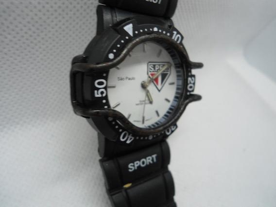 Relógio São Paulo Masculino Barato Futebol Esporte Club