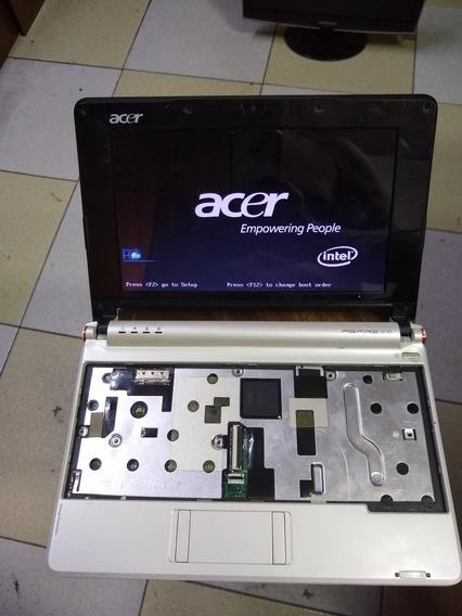 Placa Mãe Netbook Acer Aspire One! Bat, Tela,e Placa Tudo Ok