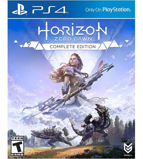 Horizon Zero Dawn Complete Edition Ps4 Nuevo Caja Bluray