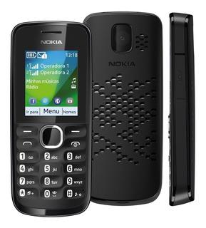 Celular Desbloqueado Nokia 110 / 111 Preto Cel De 2 Chip