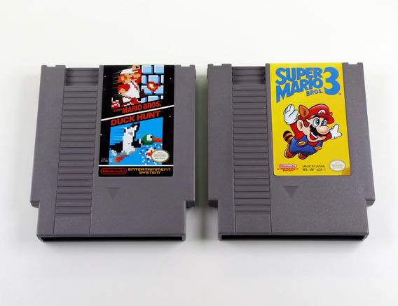 Lote 2 Jogos Originais Nintendo Nes 020
