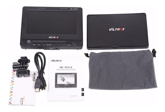 Monitor Dslr Viltrox Dc Exii 4k Hdmi E Sdi Sony Canon Nikon
