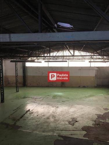 Galpão Para Alugar, 500 M² Por R$ 8.000,00/mês - Santo Amaro - São Paulo/sp - Ga0503
