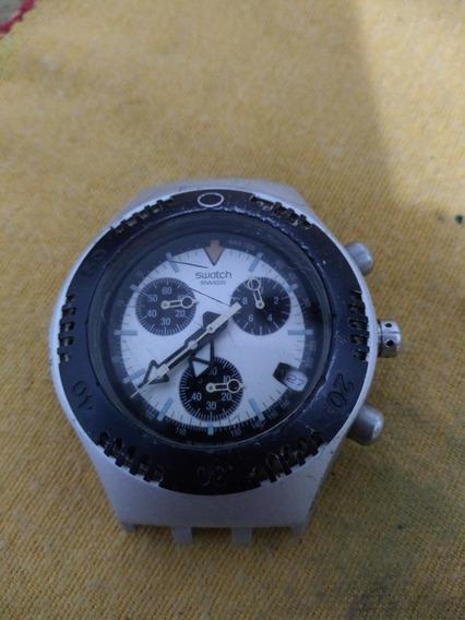 Relógio Swatch Irony Cronógrafo No Estado