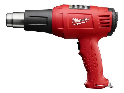 Imagen 1 de 5 de Pistola De Calor Milwaukee 11 Amp Dos Temperaturas 8975-6