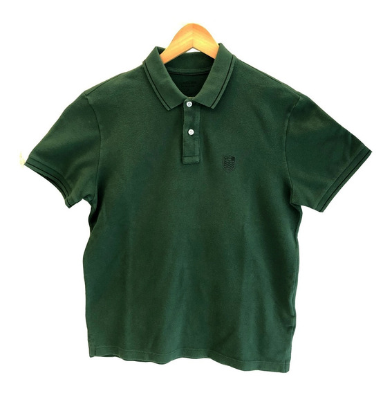 Camiseta Polo Osklen Mini Brasão