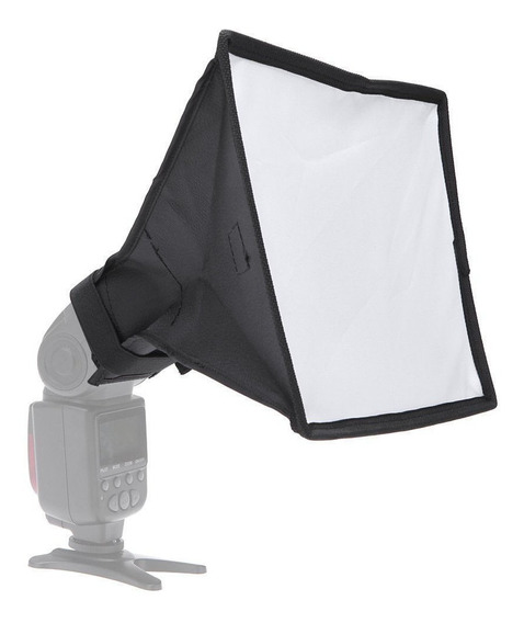 Difusor Softbox Universal Portátil 20x30cm C/ Bag Para Flash