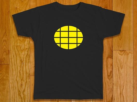 Camiseta Masculina Plus Size Capitão Planeta 100% Algodão