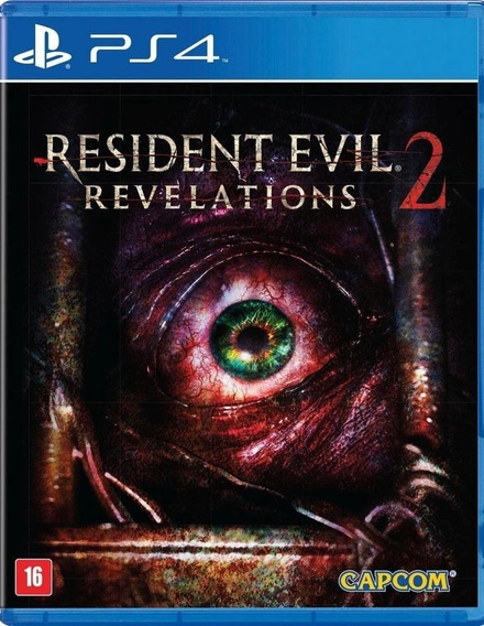 Jogo Resident Evil Revelations 2 Playstation 4 Ps4 Leg Português