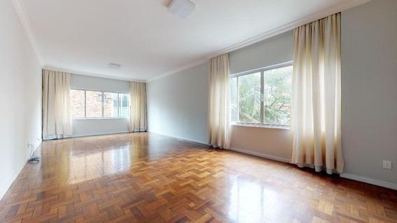 Apartamento Alto Padrão Sem Mobília, Próximo Ao Clube Paulistano, Com 3 Quartos, 259 M² - Sf29003