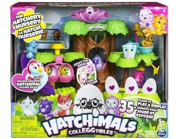 Hatchimal Playset Guarderia Con Figuras Y Accesorios