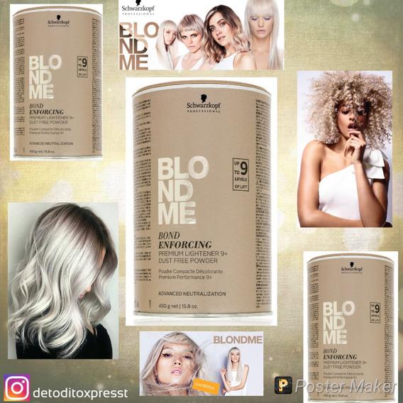 Blondme Schwarzkpf Polvo Decolorante 50grs