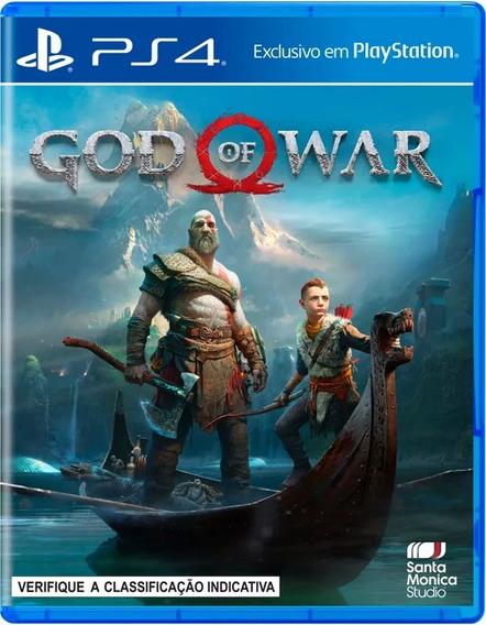 Jogo Sony God Of War 4 Blu-ray Ps4 Mídia Física - Original