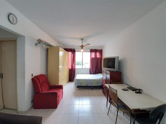 Kitnet Em Centro, Guarujá/sp De 45m² 1 Quartos À Venda Por R$ 195.000,00 - Kn362155