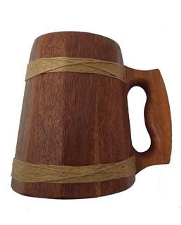 Caneca Medieval - Cedrilho Resinada - Vikings - Hidromel