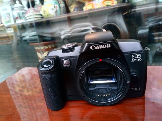 Corpo Câmera Fotográfica Canon Eos 5000 Analógica S/ Testa