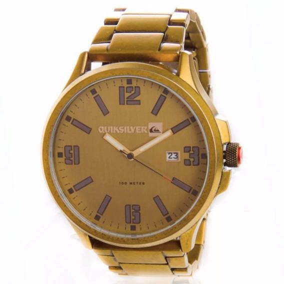 Relógio Quicksilver Beluka Antique Gold