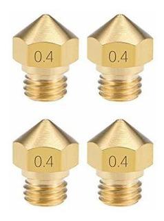 Uxcell 0.4mm Impresora 3d Cabezal De Boquilla M7 Reemplazo D