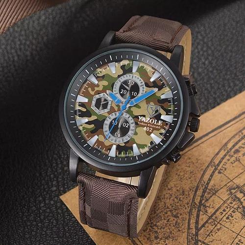 Cod 991 815 - Reloj Yazole Camuflado - Joyas Margaret