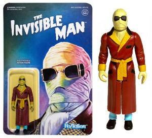 The Invisible Man Reaction Monster Súper 7 Rosario