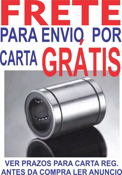 4 Peças Frete Grátis Rolamento Linear Lm8uu 3d/cnc Rol