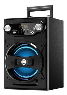 Parlante Portátil Bluetooth 6,5 Pulgadas Led Display