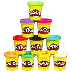 Play-doh Caso De Colores Pack De 10