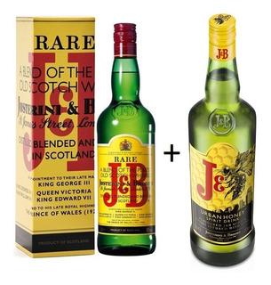 Whisky J&b 750 Cc + Whisky J&b Honey 700 Cc