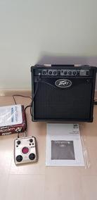 Amplificador Peavey Rage 158 E Pedaleira Zoom G1next