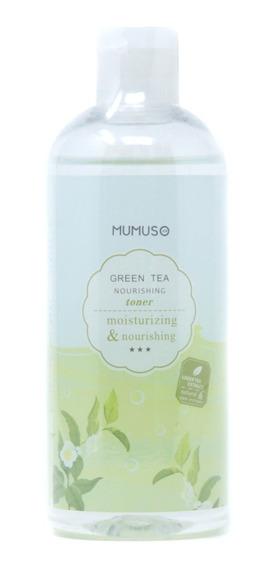 Tónico Mumuso Nutritivo Green Tea