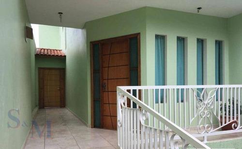 Imagem 1 de 11 de Sobrado Com 3 Dormitórios À Venda, 248 M² Por R$ 540.000,00 - Jardim Santo Alberto - Santo André/sp - So0325