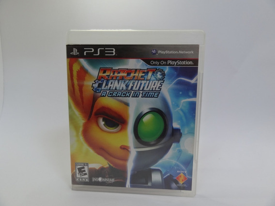 Ratchet & Clank Future A Crack In Time Ps3 Físico Usado